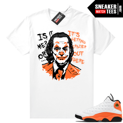 Jordan 13 Starfish Sneaker Tees Shirt Match White Joker