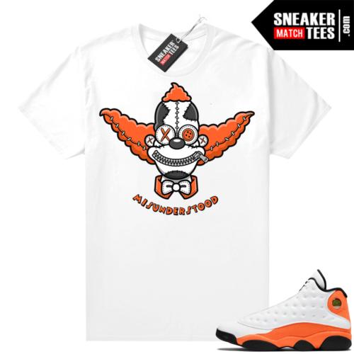 Jordan 13 Starfish Sneaker Tees Shirt Match White Misunderstood Krusty