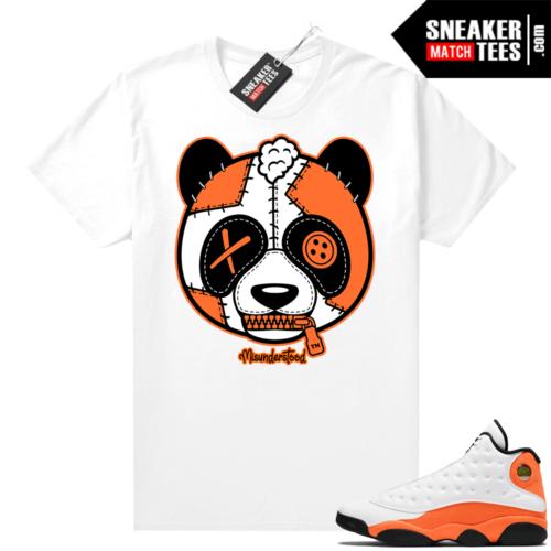 Jordan 13 Starfish Sneaker Tees Shirt Match White Misunderstood Panda