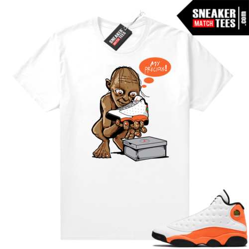 Jordan 13 Starfish Sneaker Tees Shirt Match White My Precious