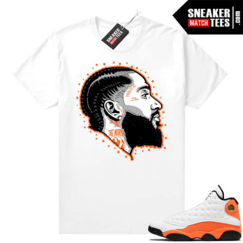 Starfish 13s shirts to match sneakers
