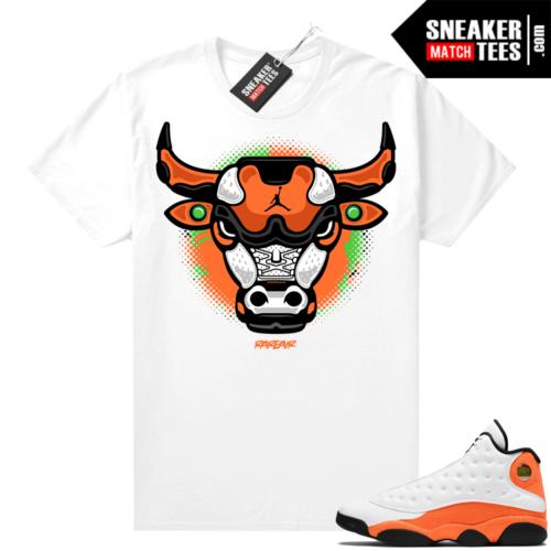 Jordan 13 Starfish Sneaker Tees Shirt Match White Rare Air Bull
