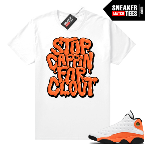 Jordan 13 Starfish Sneaker shirt