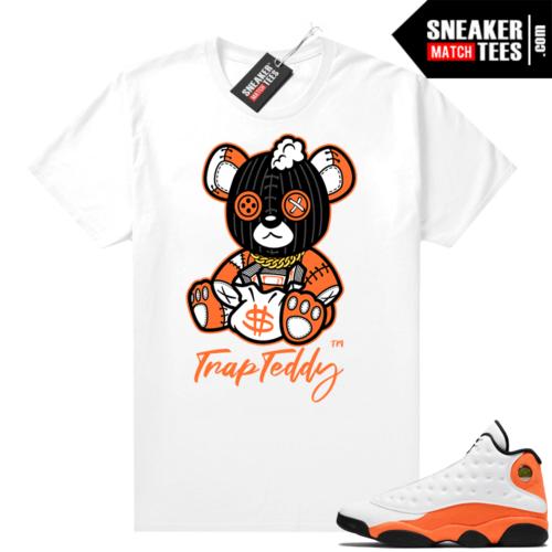 Jordan 13 Starfish Sneaker Tees Shirt Match White Trap Teddy