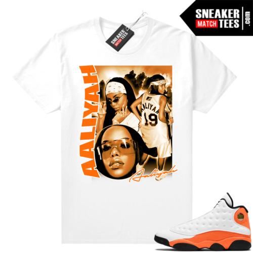 Sneaker Match Jordan 13 Starfish tees