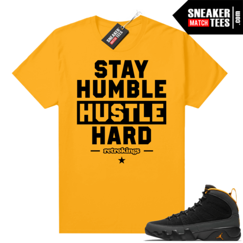 Jordan 9 University Gold Shirt Humble