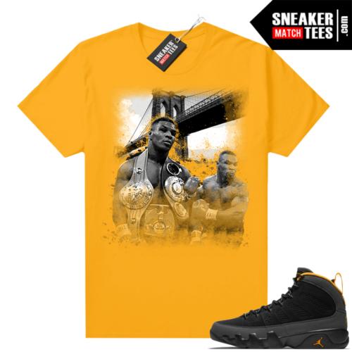 Jordan 9 University Gold Shirt Tyson Canvas