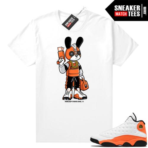No Cap Toys Trapstar Bunny Starfish 13s shirt